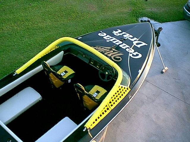 Custom miller boat decal