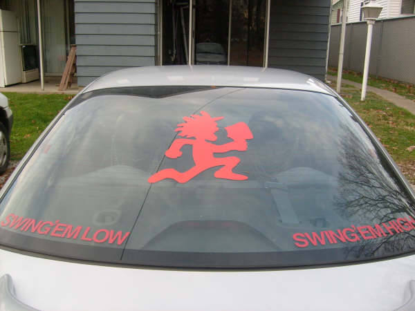 CAR WINDOW DECALS And CAR WINDOW STICKERS - Car window decal stickers for guys