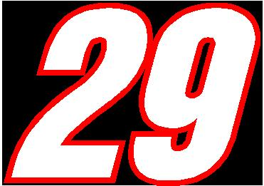 RACE NUMBER 2 COLOR SWITZERLAND INSERANT FONT DECAL / STICKER on