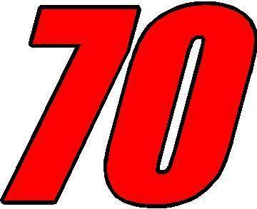 Image Gallery Nascar Number 70