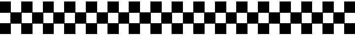 Ford Racing Decal CHECKERED FLAG DECAL / STICKER 06