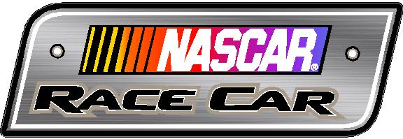 Nascar race car decal sticker 01