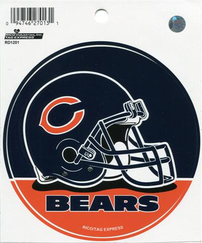 Chicago Bears Carbon 6