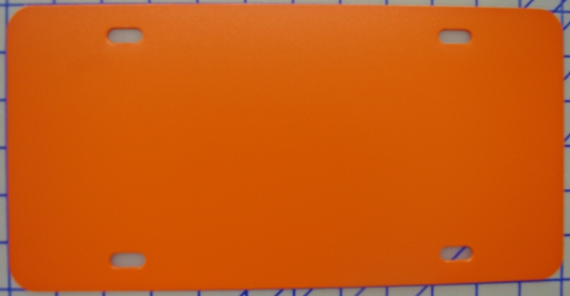 zz Plastic Orange Blank License Plate  sc 1 st  Fast Decals & Miscellaneous Products :: zz Plastic Orange Blank License Plate