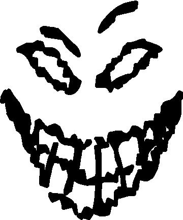 Disturbed logo face