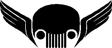 jeep skull decals – Etsy