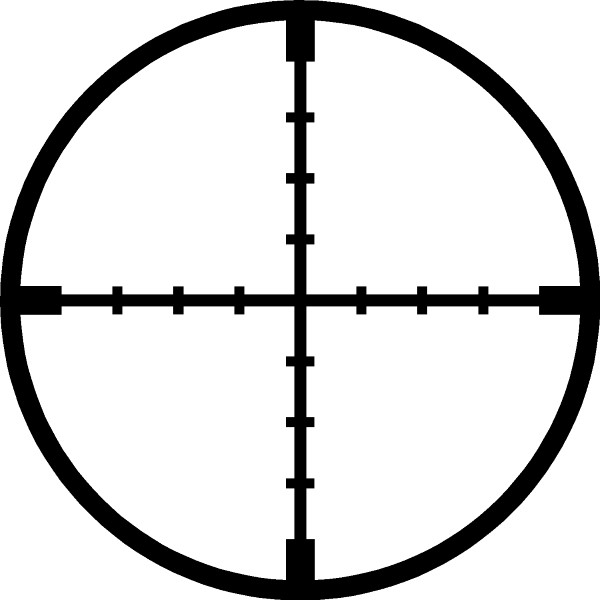 Gun Decals Scope Crosshairs Decal Sticker