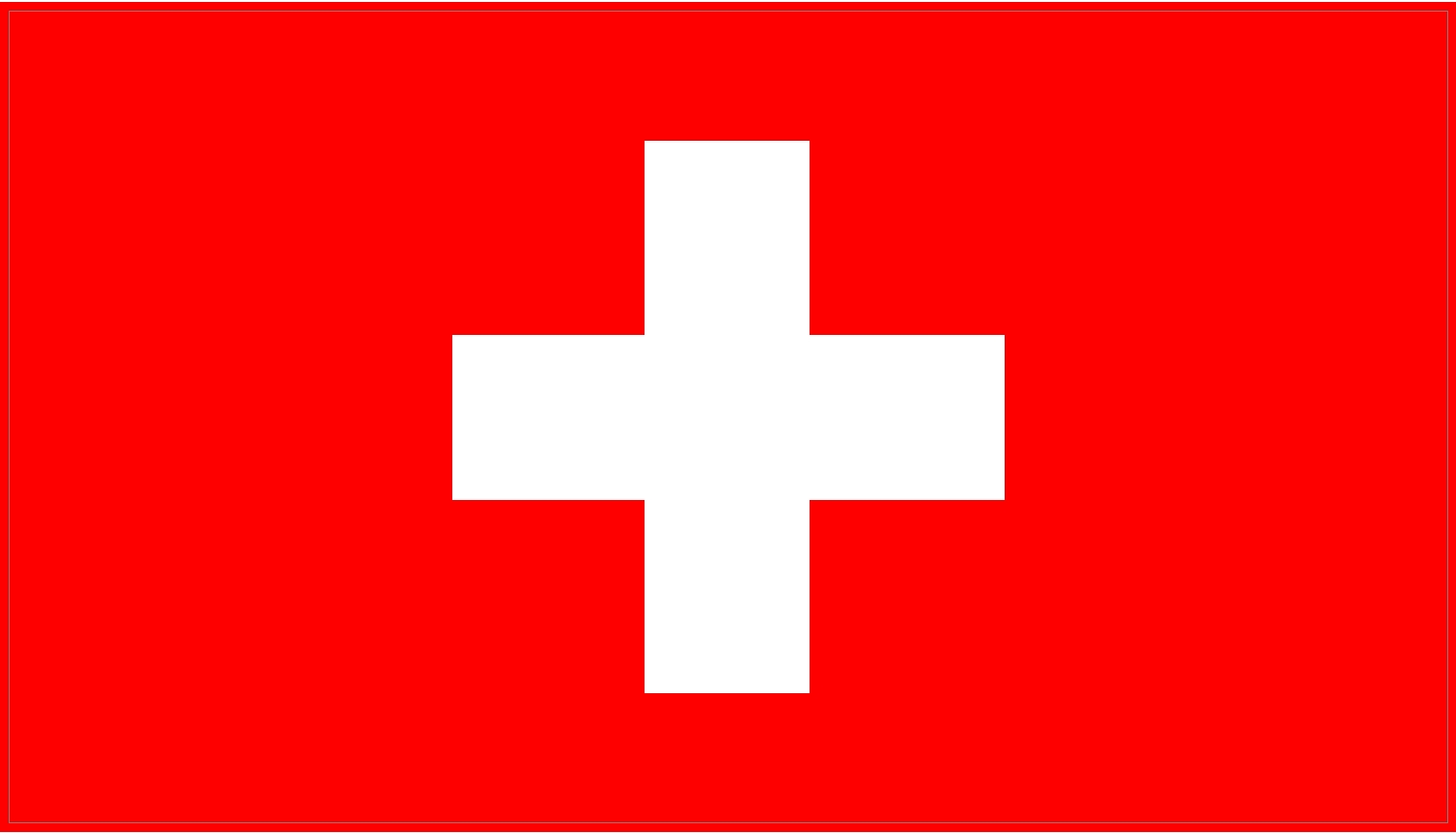 Swiss Flag Decal Sticker