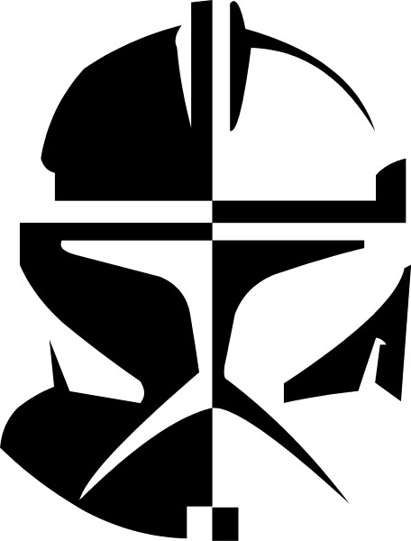 Clone trooper decal sticker 02