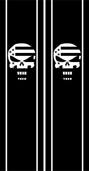 CUSTOM PUNISHER DECALS And PUNISHER STICKERS - Decals for boat motorsoutboarddecalscom s of decals in stock