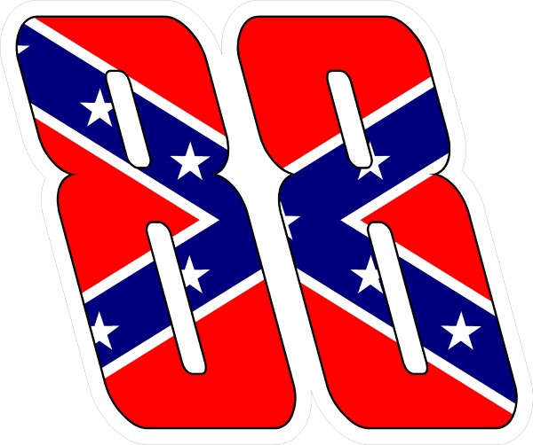 CONFEDERATE FLAG DECALS And CONFEDERATE FLAG STICKERS - Rebel flag truck decals   online purchasing