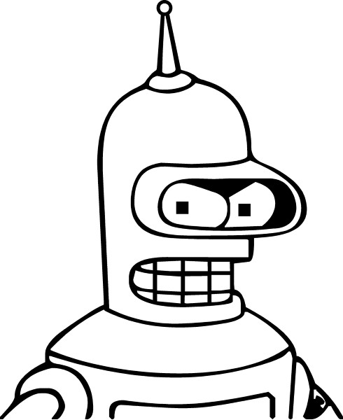 Bender decal sticker 01