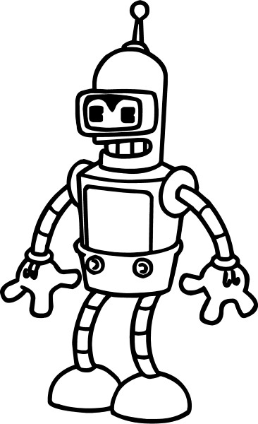 Bender decal sticker 02