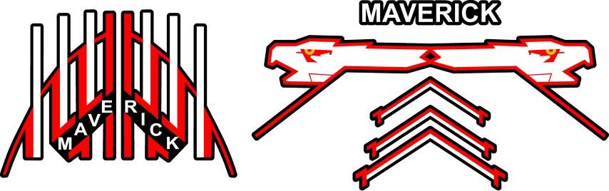 top gun maverick helmet decal sticker set 01