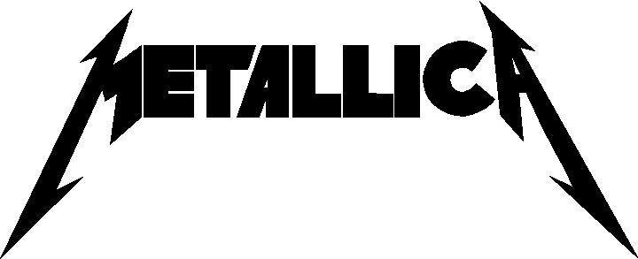 Band decals and music metallica decal sticker