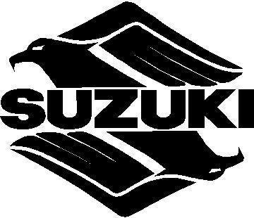 Suzuki Intruder 01 Decal Sticker