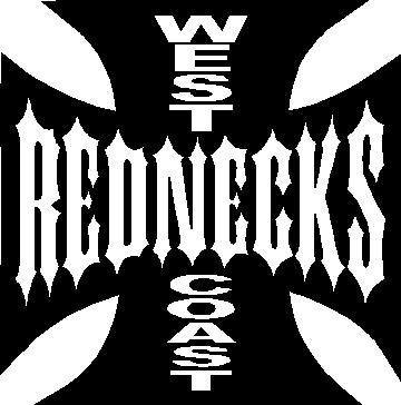 West coast rednecks decal sticker 02 this white rectangle is not part of the