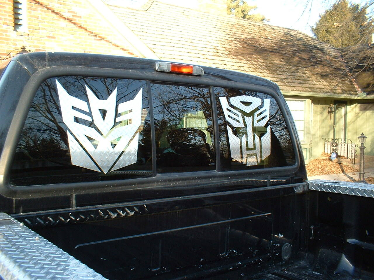 Comic Decals And Cartoon Decals Transformers Decepticon Decal - Window decals for cars and trucksdecals stickers vinyl decals car decals general