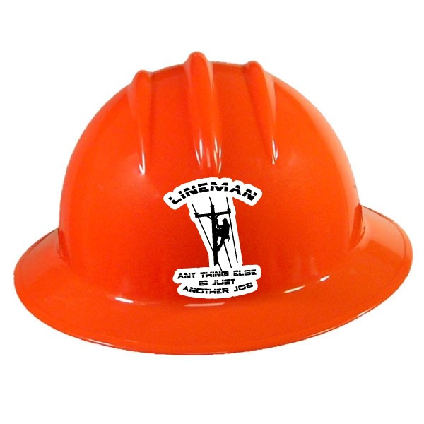 Hardhat decals and stickers custom safety hard hat labels