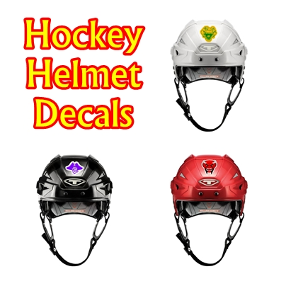 Hockey Helmet Decals