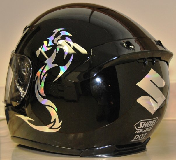 Vinyl Stickers For Helmets