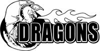 Dragons Mascot Decal / Sticker