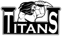 Titans Mascot Decal / Sticker