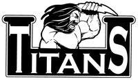 Titans Mascot Decal / Sticker
