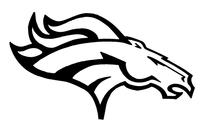 Horse Mascot Head Decal / Sticker 6