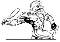 Baseball Gamecocks Mascot Decal / Sticker 8