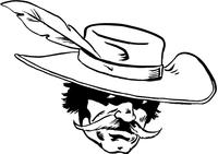 Cavaliers Mascot Decal / Sticker