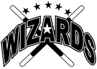 Wizards Mascot Decal / Sticker