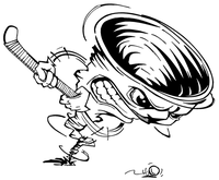 Storm Mascot Decal / Sticker 1