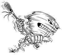 Storm Mascot Decal / Sticker 4