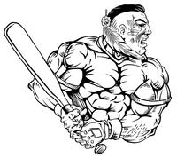 Baseball Braves / Indians / Chiefs Mascot Decal / Sticker ba3