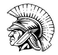 Paladins / Warriors Mascot Decal / Sticker 5