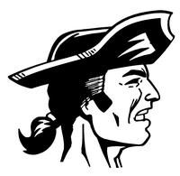 Patriots Mascot Decal / Sticker