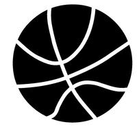 Basketball Decal / Sticker