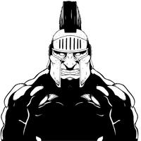 Trojans Mascot Decal / Sticker
