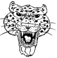 Leopards Mascot Decal / Sticker 2