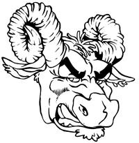 Ram Head Decal / Sticker