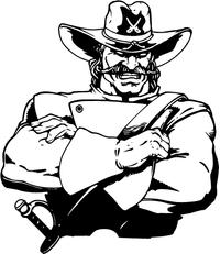 Generals Mascot Decal / Sticker