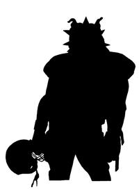 Football Bulldog Mascot Decal / Sticker 01