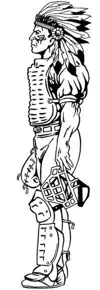 Baseball Braves / Indians / Chiefs Mascot Decal / Sticker ba1