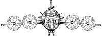 Bomber Mascot Decal / Sticker
