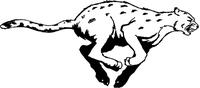 Jaguars Mascot Decal / Sticker