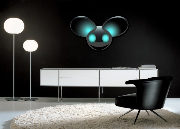 Deadmau5 wall decals and stickers band
