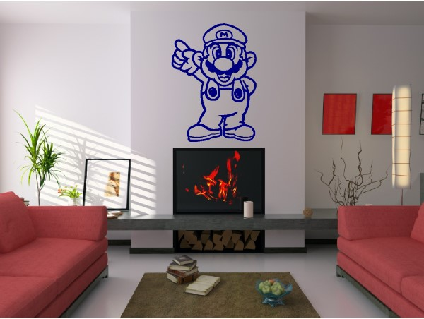 ... Mario Video Game Wall Decals And Stickers
