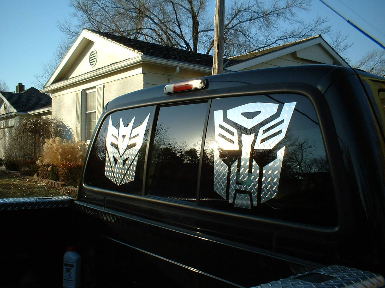 DIAMOND PLATE DECALS And STICKERS - Truck decals and stickers