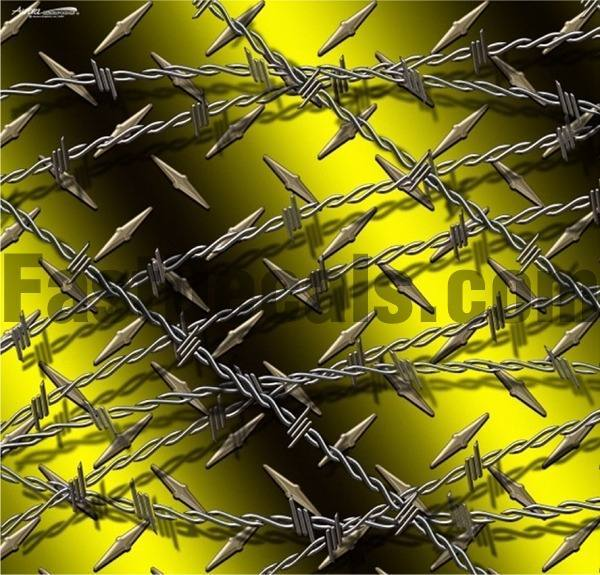 BARBED WIRE DECALS And STICKERS - Barb wire custom vinyl decals for trucks